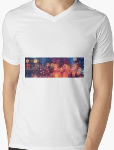 DLXL - Bokeh Mens V-Neck T-Shirt