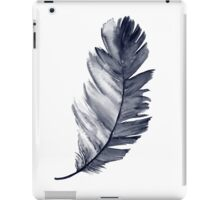 Feather Art Print Room Decoration Illustration Blue Poster iPad Case/Skin