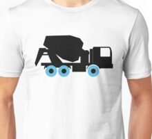Cement Truck Icon Unisex T-Shirt