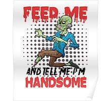 Handsome Zombie Poster