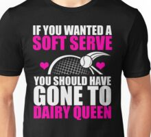 Tennis - Soft Serve Unisex T-Shirt