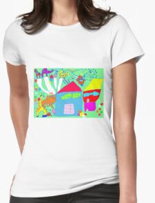 Spirit of Childhood Womens Fitted T-Shirt
