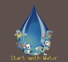 Start with water Kids Clothes