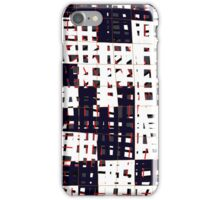 Abstract city landscape  iPhone Case/Skin