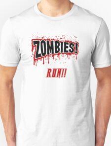 Zombies, Run- Halloween, Walkers Unisex T-Shirt