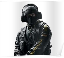 Bandit Rainbow 6 Siege - portait Poster