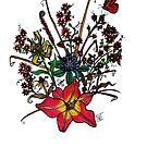 Flower Series #7 by Loni Edwards