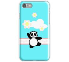 Flowery Panda Dance iPhone Case/Skin