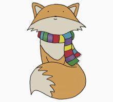 Felix the Fox One Piece - Short Sleeve
