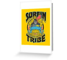Surfin' Tribe. Greeting Card