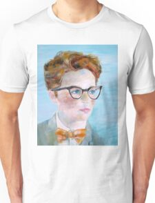 CHILD with GLASSES Unisex T-Shirt