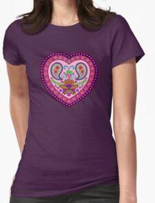Decorative India Style Heart T-Shirt