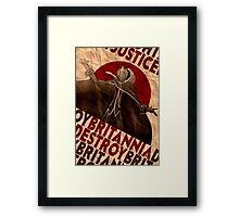 Justice will be done -  Code Geass Framed Print