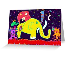 Space Sparkle Greeting Card