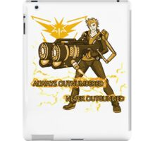 Always Outnumbered Never Outgunned iPad Case/Skin