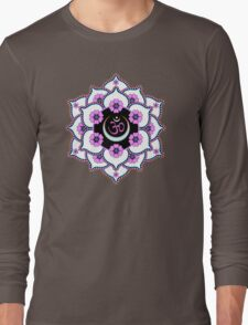 Crown Chakra Long Sleeve T-Shirt
