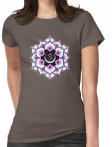Crown Chakra Womens Fitted T-Shirt