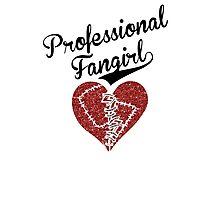 Professional Fangirl, Broken Heart Photographic Print