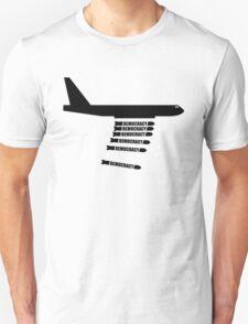 Democracy Plane Bomber Unisex T-Shirt