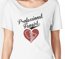 Professional Fangirl, Broken Heart Women's Relaxed Fit T-Shirt