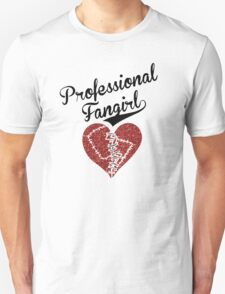 Professional Fangirl, Broken Heart Unisex T-Shirt