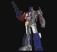 Optimus Prime - Écorché by NDVs