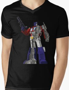 Optimus Prime - Écorché Mens V-Neck T-Shirt