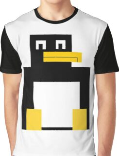 Cubed Penguin Graphic T-Shirt