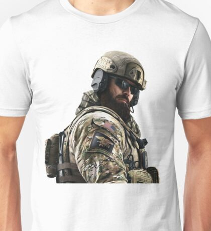 Blackbeard Rainbow 6 Siege - portait Unisex T-Shirt