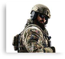 Blackbeard Rainbow 6 Siege - portait Canvas Print