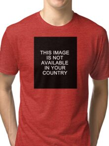 This image is not available in your country Tri-blend T-Shirt