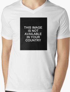This image is not available in your country Mens V-Neck T-Shirt