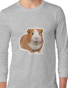 red guinea pig Long Sleeve T-Shirt