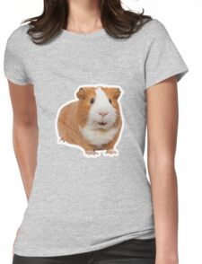 red guinea pig Womens Fitted T-Shirt