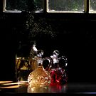 Mason Jar and Crystal© by walela