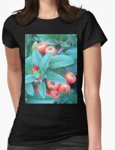 Cotoneaster 2 Womens Fitted T-Shirt
