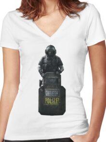 Blitz Rainbow 6 Siege - full Women's Fitted V-Neck T-Shirt