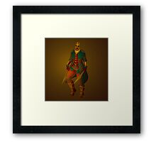 Rogue (Close-up and Print) Framed Print