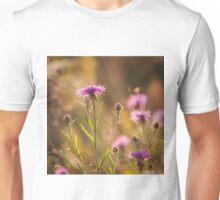 Brown Knapweed Unisex T-Shirt