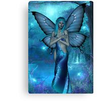 visions in blue Canvas Print