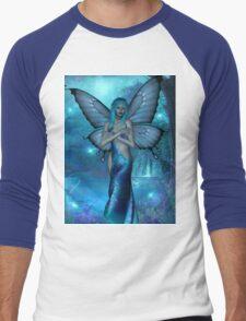 visions in blue Men's Baseball ¾ T-Shirt