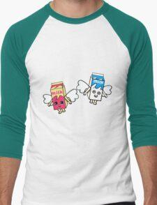 coffee and tv Men's Baseball ¾ T-Shirt