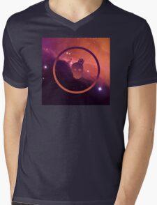 Olympus x Nebula Mens V-Neck T-Shirt