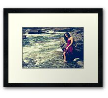 Unity if the River Framed Print