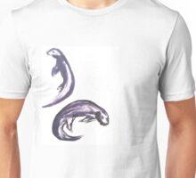 Swish Otters  Swimming  Unisex T-Shirt