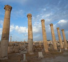 City greco-roman of Jerash by PhotoBilbo