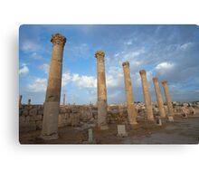 City greco-roman of Jerash Canvas Print