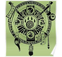 Monk Crest Poster