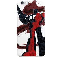 Optimus Prime - Écorché (dark) iPhone Case/Skin