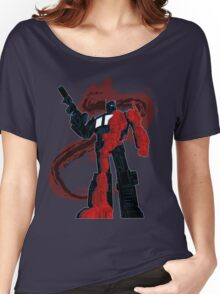 Optimus Prime - Écorché (dark) Women's Relaxed Fit T-Shirt